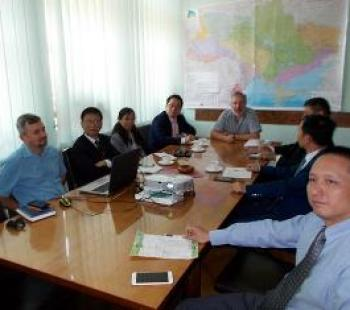 Working visit of the delegation from China, Zhuji.